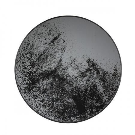 Clear mirror tray - round - L