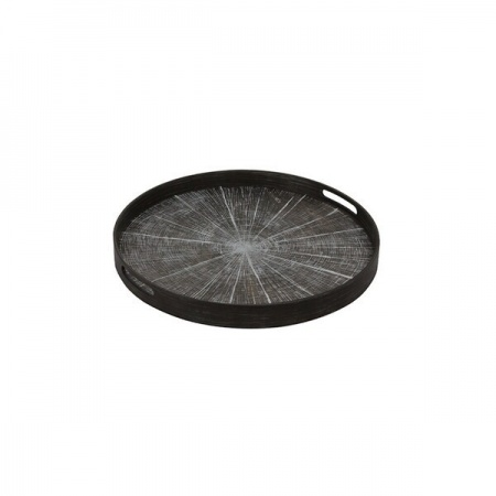 White Slice wooden tray -...