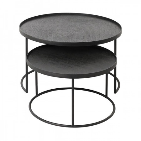 Round tray coffee table set...