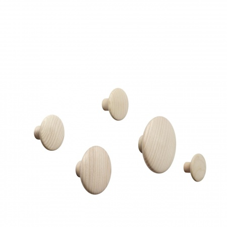 DOTS WOOD / SET OF 5