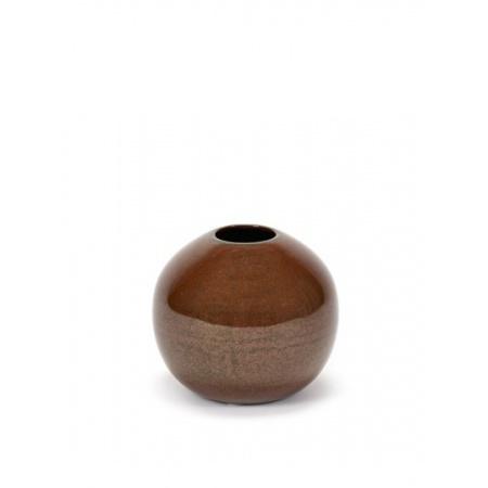 Vase boule S Anita - Rouille