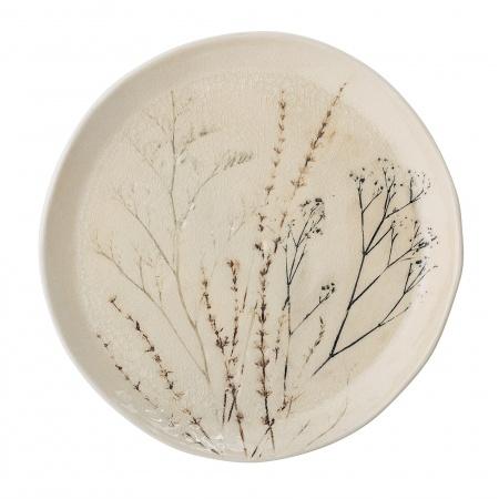 Assiette Bea D27,5 cm - Nature