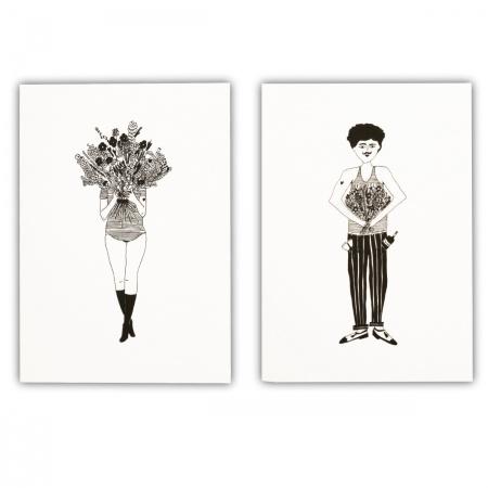 Bloc-notes Flower girl &...