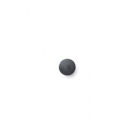 Patère S laiton - Noir