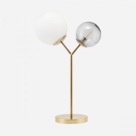Lampe de table, Twice, Laiton