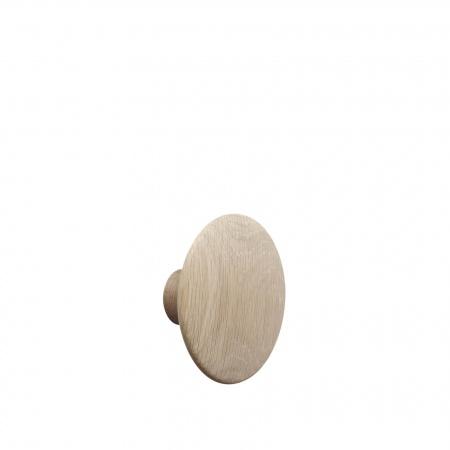Patère Dots Wood Ø13 - Chêne