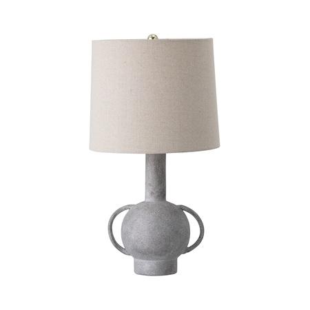 Table lamp, Grey, Terracotta