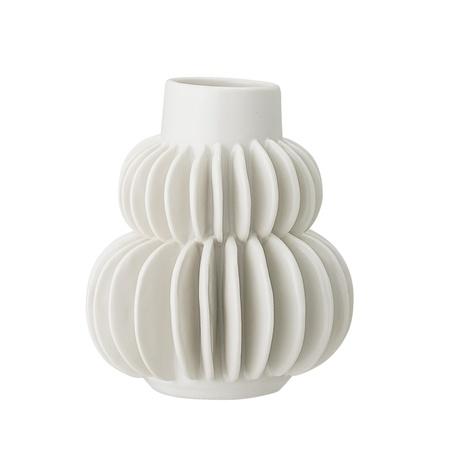 Vase en grès - Blanc