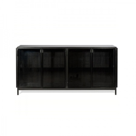 Buffet Anders 4 portes - Noir