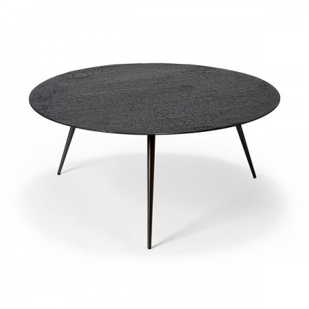 Table basse Luna - lave - Noir