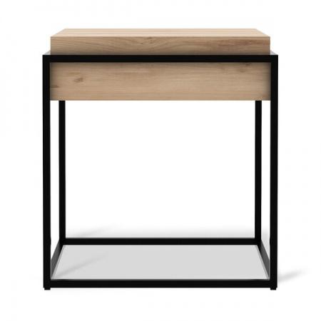 Oak Monolit side table -...