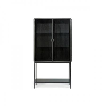 Armoire Anders 2 portes - Noir