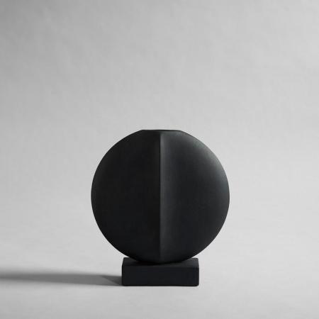 Vase Guggenheim Mini - Noir