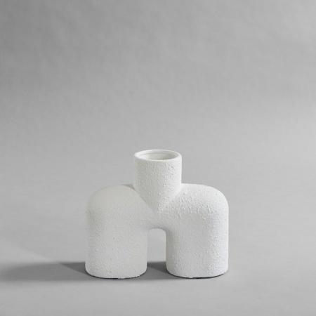 Vase Cobra Uno - Bubble Blanc