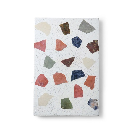 Planche de terrazzo en marbre