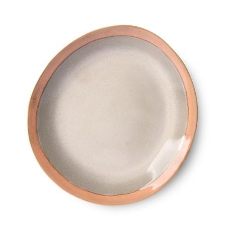 Assiette Ceramic 70's - Earth