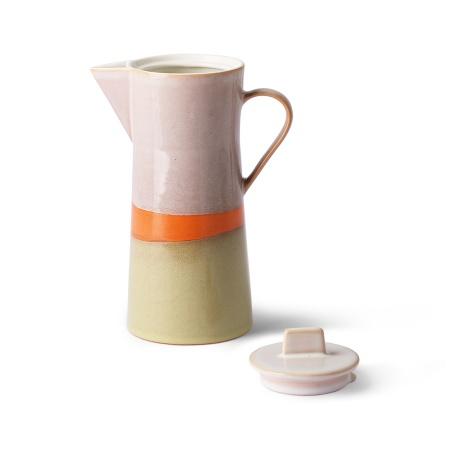 70s ceramics: coffee pot,...