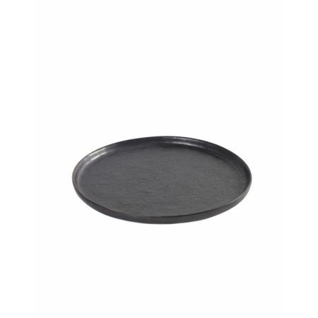 Assiette Pure S - Noir