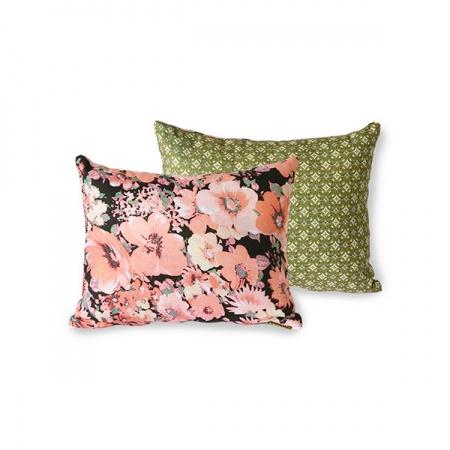 Coussin motif floral Doris...