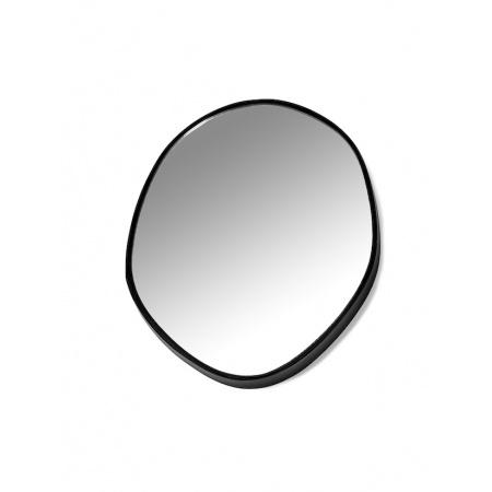 Miroir C - D30,5 cm - Noir