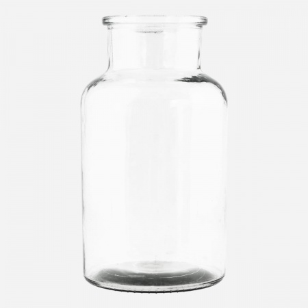 Vase Jar D13,5 - Transparent