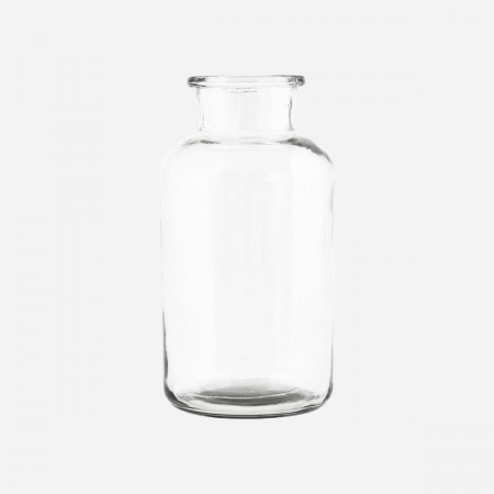 Vase Jar D10 - Transparent