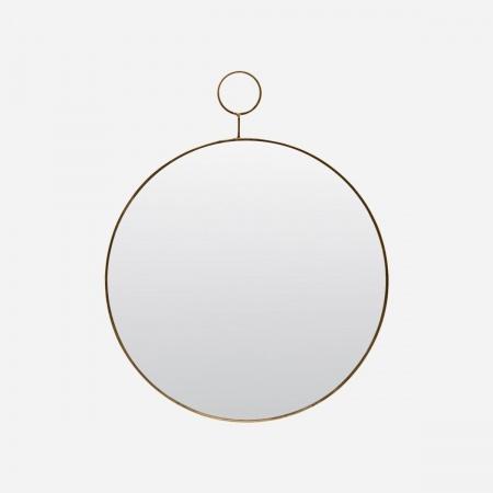 Miroir Loop D38 - Laiton