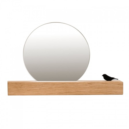 Mirror 25 cm  with stand...