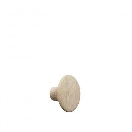 Patère Dots Wood Ø9 - Chêne