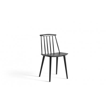 Chaise J77 - Noir
