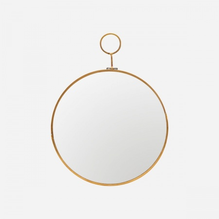 Miroir Loop D22 - Laiton
