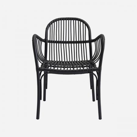 Chair, Brea, Black, Seat...