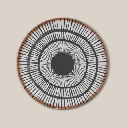 Assiette en fibre de bambou...