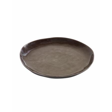 Assiette ronde Pure M - Gris