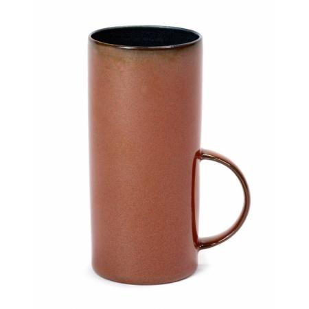 Tasse à thé - Dark Blue/Rust