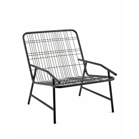 Chaise basse Edward - Noir