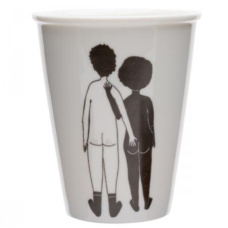 Tasse White man & black woman