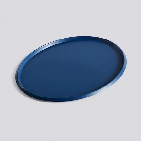 Plateau Ellipse - L - Bleu...