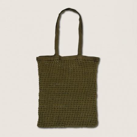 Totebag en coton - Vert sapin