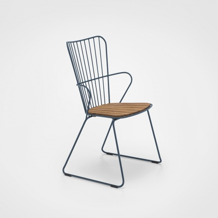 PAON Rocking Chair - Bleu Nuit