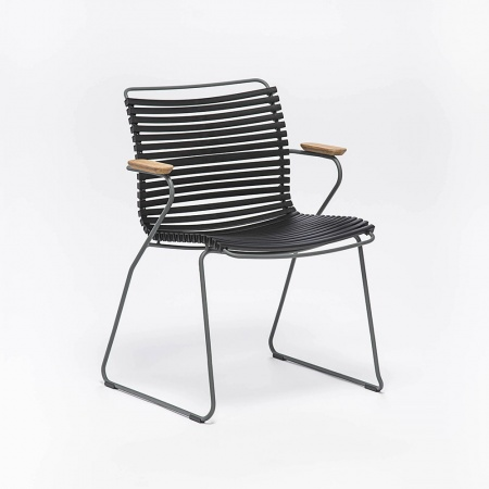 CLICK Dining Chair - noire...