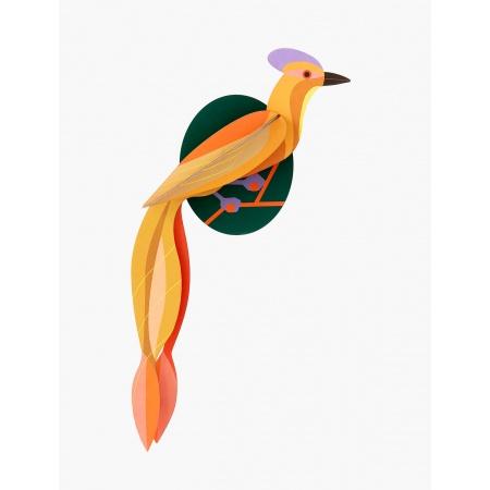 Oiseau de paradis 3D à...