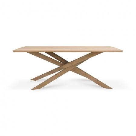 Table Mikado en chêne - 203...