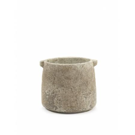 Pot de fleurs M - Beige
